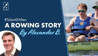 #Talent@Alten: Alexander B., A Rowing Story