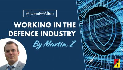 #Talent@Alten: Meet Martin, an Alten consultant in the Defence Industry!