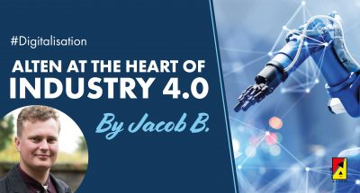 ALTEN at the heart of Industry 4.0